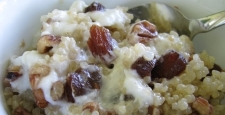 Breakfast Quinoa with Yogurt