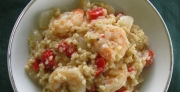 Shrimp and Red Pepper Quinoa