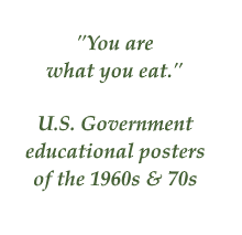 US Govt quote on diet