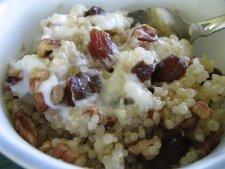 Breakfast Quinoa with Yogurt, Fruit, and Nuts