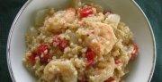 Shrimp and Red Pepper Quinoa